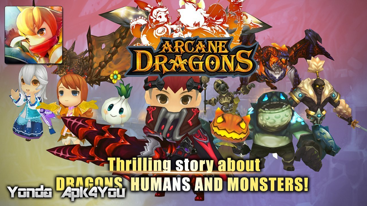 Arcane Dragons Gameplay Android / iOS