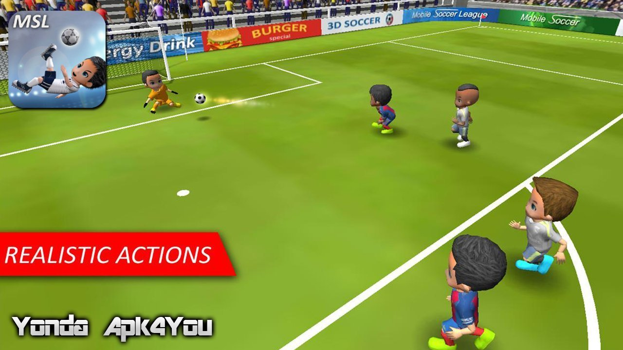 Mobile Soccer League Gameplay Android / iOS