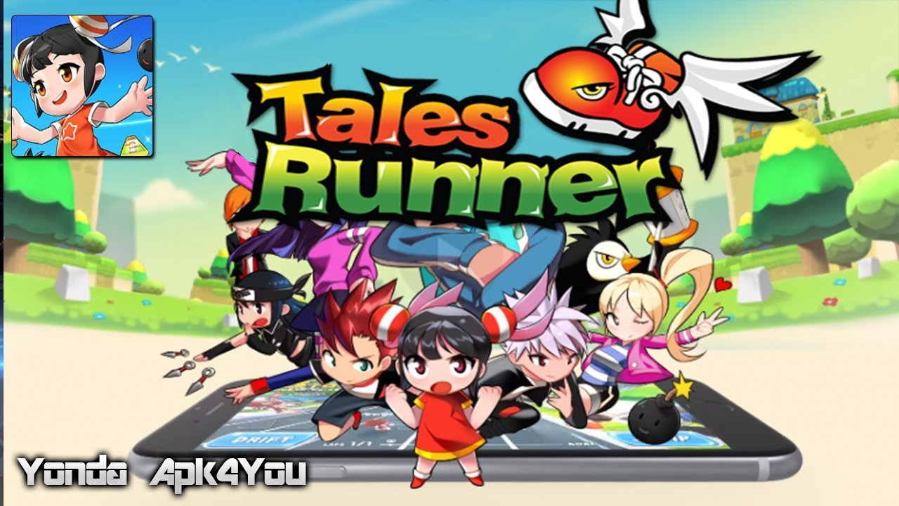 TalesRunner Revolt CBT Gameplay Android / iOS