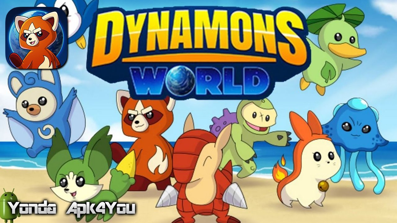 Dynamoms World Gameplay Android / iOS