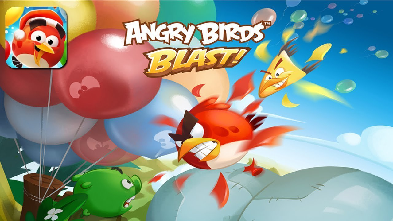 Angry Birds Blast Gameplay Android / iOS