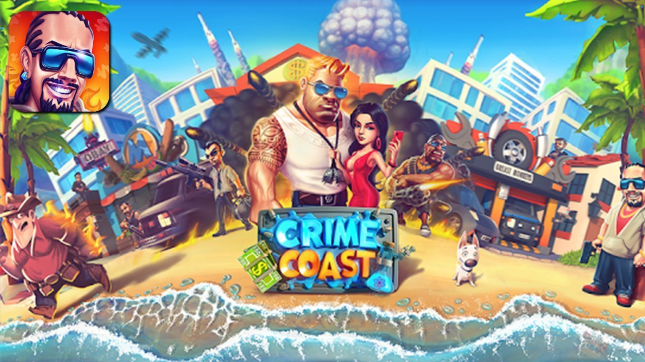 Crime Coast Gameplay Android / iOS