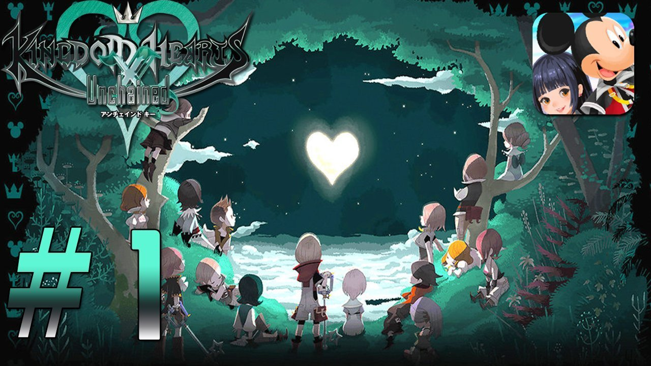 Daybreak Town | KINGDOM HEARTS Unchained χ # 1 Gameplay Android / IOS