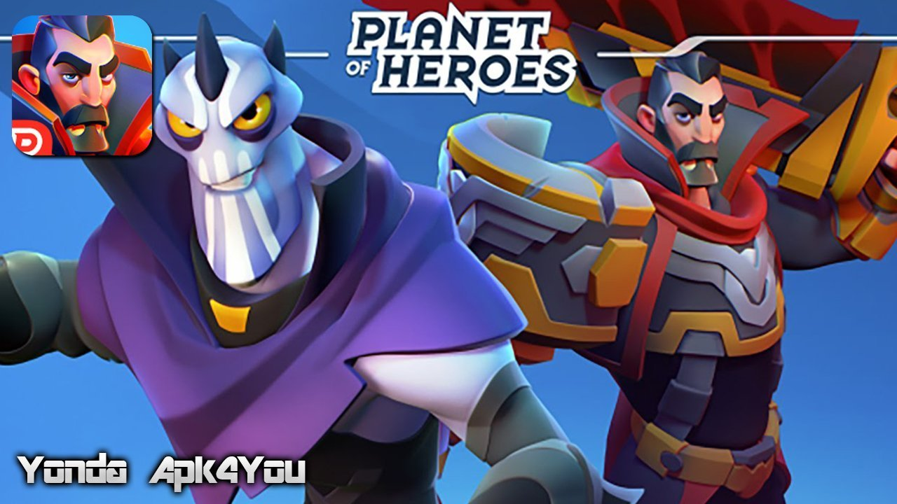 Planet of Heroes Gameplay Android / iOS