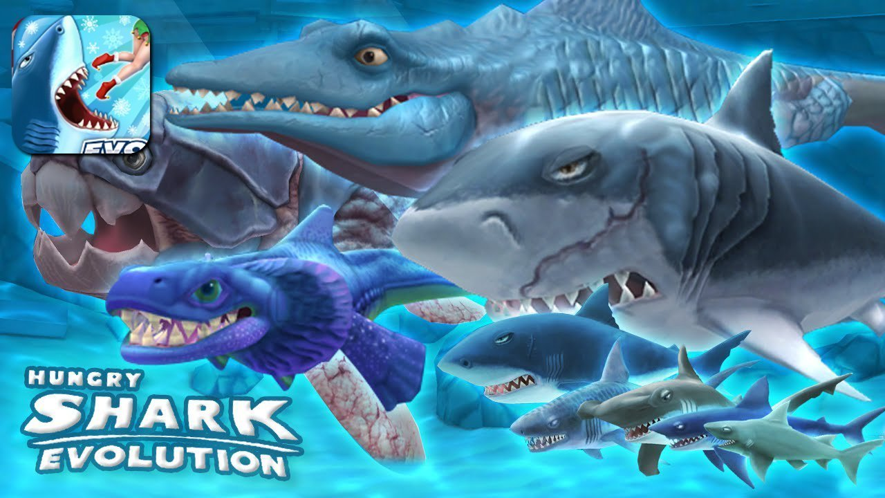 Hungry Shark Evolution Gameplay Android / iOS
