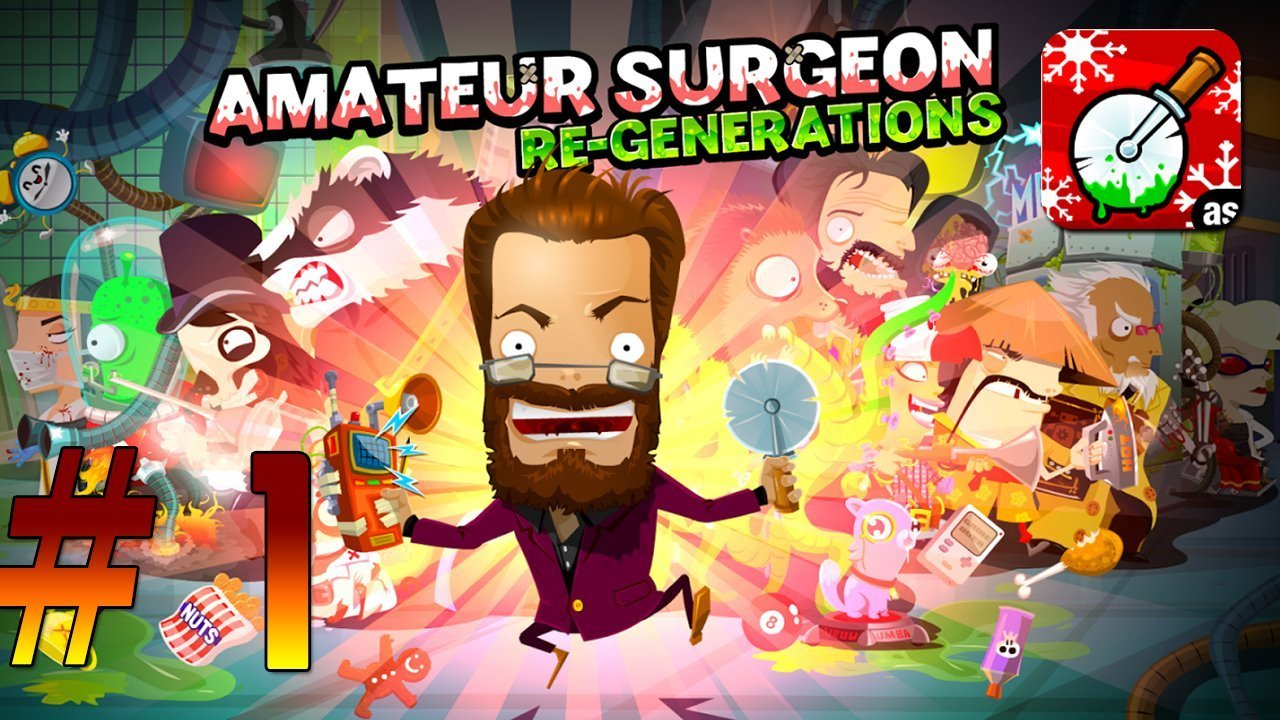 Amateur Surgeon 4 Gameplay Walkthrough # 1 Android / iOS