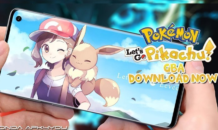 New Pokemon Game Download Now! Pokemon Let's Go Pikachu GBA – Android IOS Gameplay