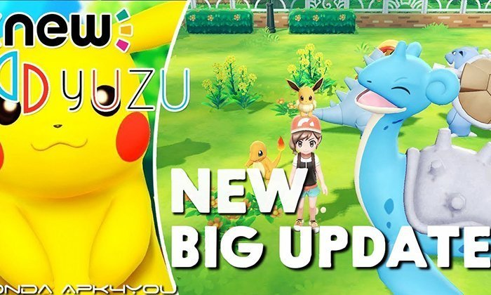 New Nintendo Switch Emulator! Yuzu Emulator Big Update Pokemon Let's Go , Crash CTR And More Gameplay