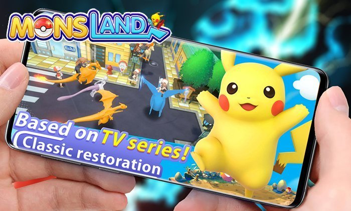 Coming Soon New Pokemon Game! Mons Land – Android IOS Gameplay
