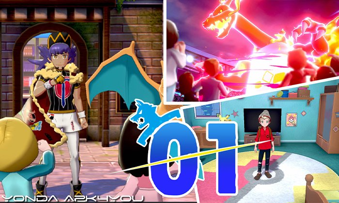 Pokémon Sword And Shield Part 1 – A New Adventure!  Gameplay Walkthrough