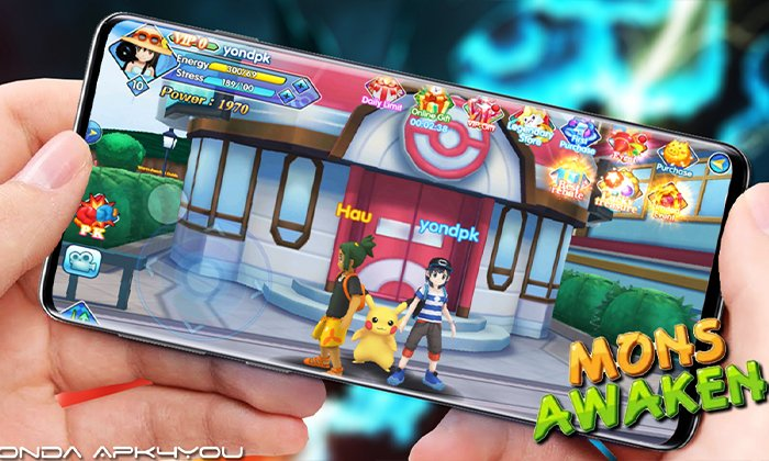 New Pokemon Game New Version! Pocketown Mons Awaken – Android IOS Gameplay