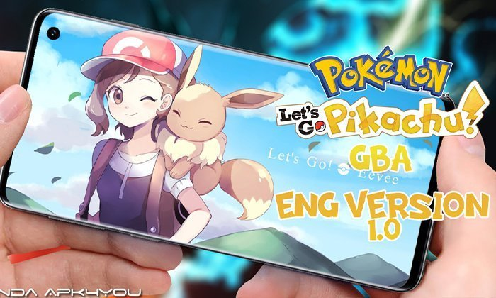 Pokemon Let's Go Pikachu GBA ENGLISH – Android IOS Gameplay Trailer