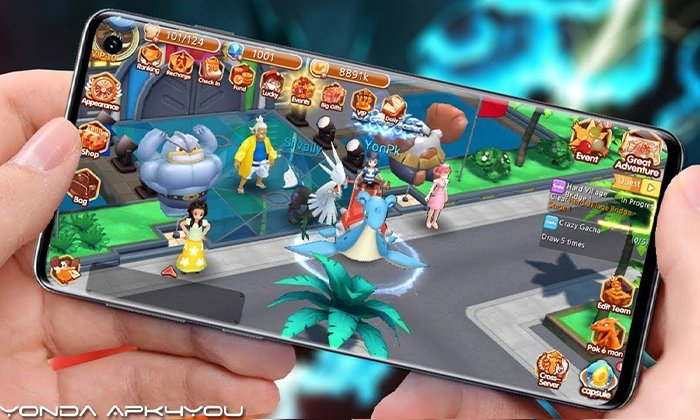 Mons Trainer – Android IOS Download