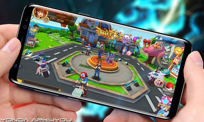 New Pokemon Games! Pockie Trainers Android/IOS