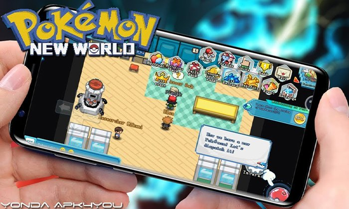 New Pokemon Game! Pokémon New World – Android IOS