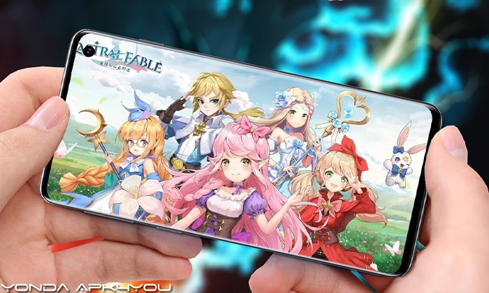 New MMORPG! Astral Fable Android IOS Gameplay