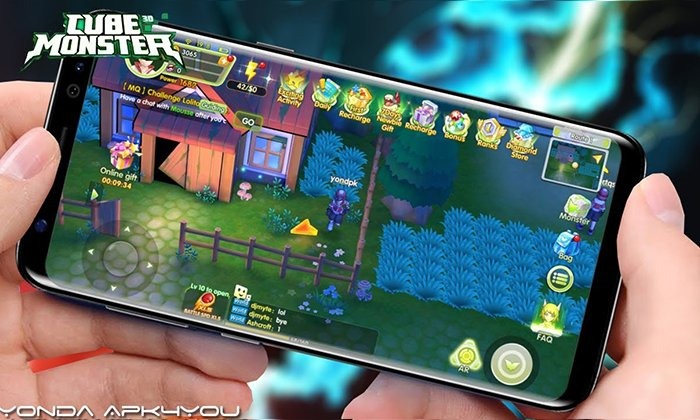 Cube Monster 3D Android IOS Gameplay