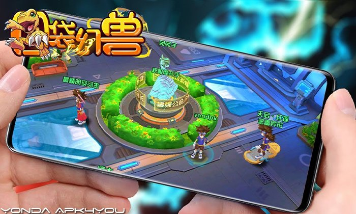 New Digimon Game! Data Squad IOS Gameplay