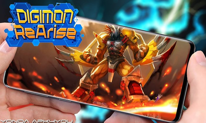 Digimon ReArise Android IOS Gameplay