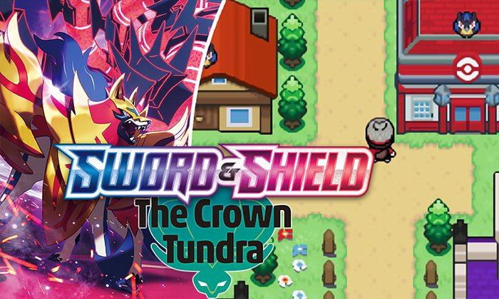 Pokemon Sword The Crown Tundra GBA Download Android IOS Gameplay